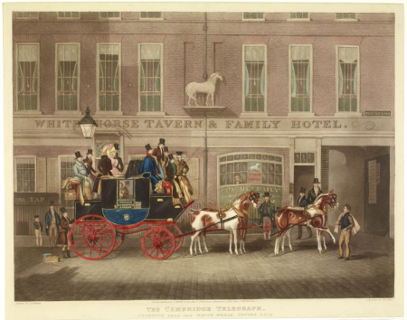The Cambridge Telegraph mail coach